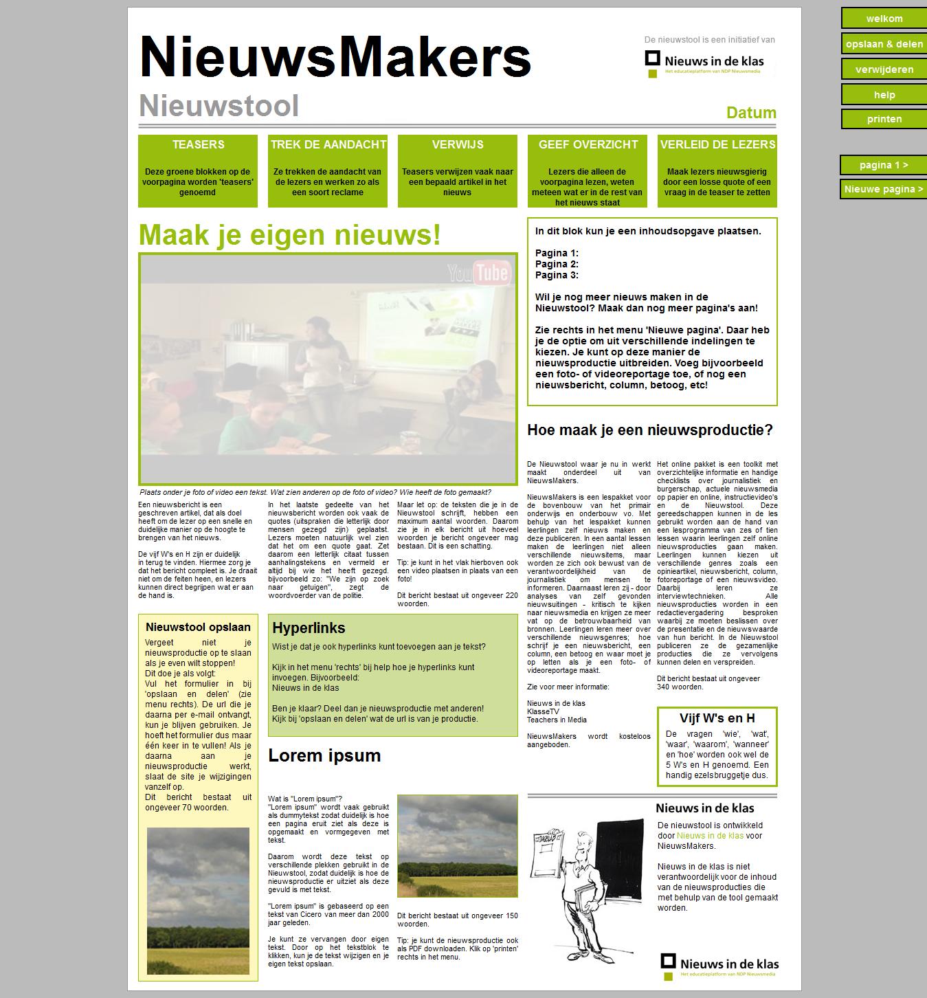 Nieuwstool.nl (voormalig: krantenmaken.nl)