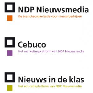 Logo's NDP Nieuwsmedia
