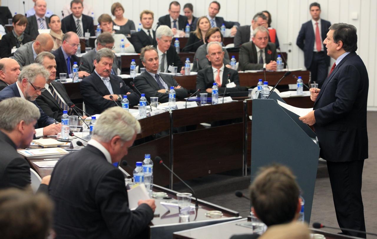 Barroso over pers in democratische samenleving